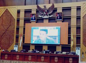 DPRD Samarinda Gelar Sidang Paripurna Umukan Andi Harun-Rusmasi Walikota dan Wakil Walikota Terpilih 2020