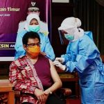 Pemprov Kaltim Jalani Penyuntikan Vaksin Covid-19 Kedua