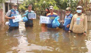 Peduli Korban Banjir di Kalsel, I Care Kaltim Kirim bantuan Sembako dan Relawan