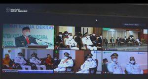 Lantik 6 Kepala Daerah di Kaltim, Isran Noor Minta Selaraskan Program Pembangunan