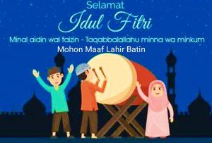 Apakah Ucapan Minal Aidzin Wal Faaidziin Bermakna Mohon Maaf Lahir Batin, Berikut ini Penjelasannya!