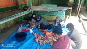 MD Kahmi Samarinda Berbagi Daging Kurban Idul Adha 1442