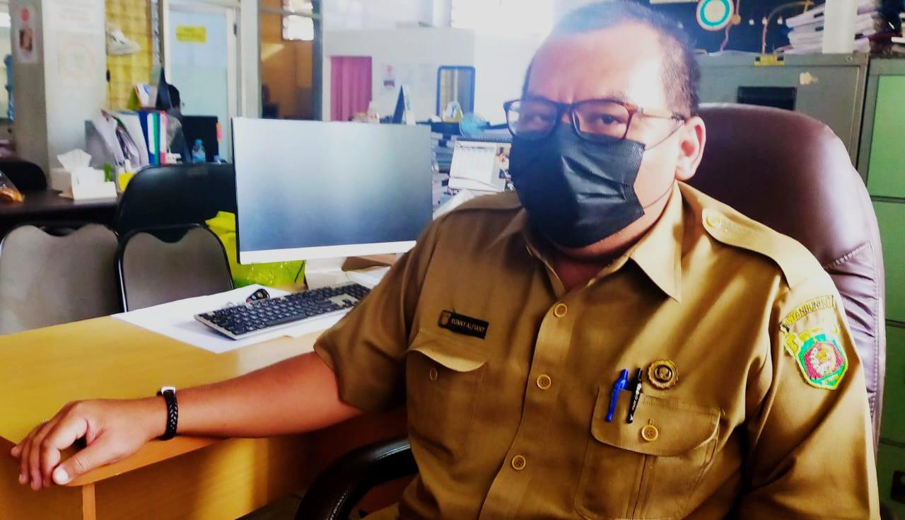 Foto : Kepala Seksi (Kasi) Pemeliharan Lingkungan Hidup dan Pertamanan DLH Samarinda, Ronny Alfiany.