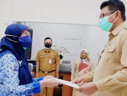 Basri Rase Resmi Lantik Satu Orang Pejabat Fungsional Jadi Dokter Ahli Utama di Lingkungan Pemkot Bontang