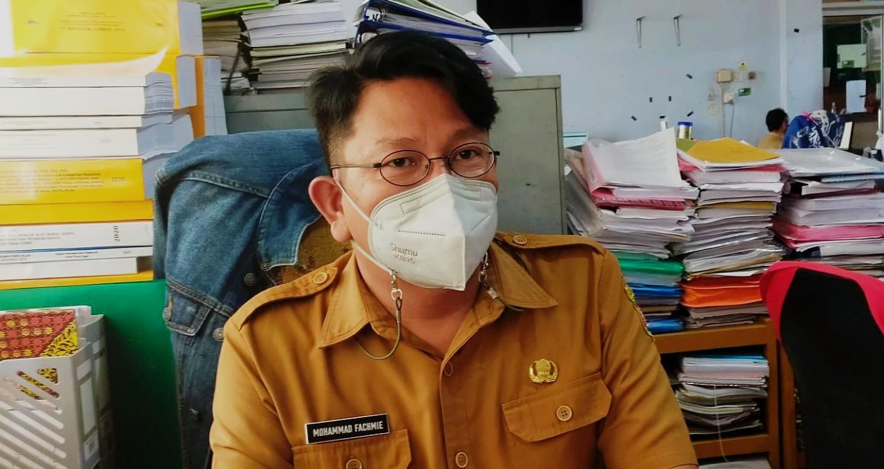 Seksi (Kasi) Kajian Dampak Lingkungan DLH Samarinda, Mohammad Fachmi.