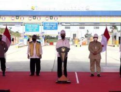 Presiden Jokowi Resmikan Jalan Tol Balsam Seksi I dan V, Upaya Pemerataan Pembangunan Hingga Tekan Biaya Logistik