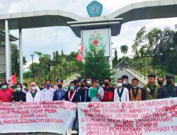Presiden Jokowi Kunjung ke Samarinda di Sambut Demo Mahasiswa Cipayung, Layangkan Sejumlah Tuntutan