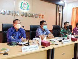 Ikut Pengarahan Kasad Upaya Percepat Pembangunan Desa, Basri Rase Dukung Program TMMD