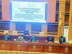 RAPBD Perubahan 2021 Diusulkan Pemkot Samarinda Senilai 723,4 Miliar